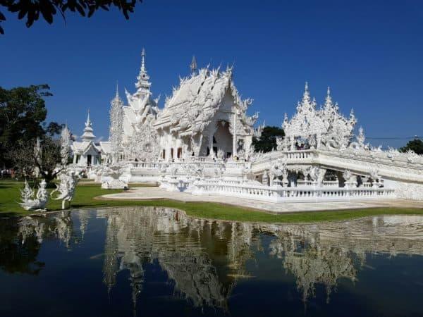 Chiang Rai e o Templo Branco